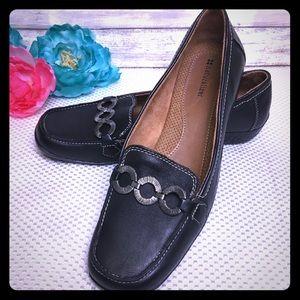 Naturalizer Black Slip On Shoes, Size 11
